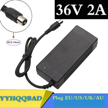 YYHQQBAD 36V 2A lead acid battery charger for electric scooter ebike wheelchair Charger 41.4V lead-acid battery Charger RCA Plug