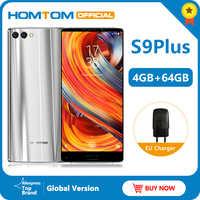 "Original version HOMTOM S9 Plus 18:9HD+ 5.99"" Tri-bezelless Full Display Cell phone MTK6750T Octa Core 4G+64GB 4G LTE Smartphone"