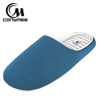 Winter Men Home Slippers Casual Indoor Shoes Footwear Soft Plush Bedroom Slippers Sandals Non-slip Male Warm Cotton Slipper Shoe