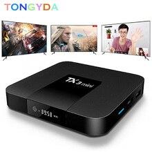 TX3 Mini Android 7.1 Smart TV Box 1GB/2GB 8GB/16GB Amlogic S905W Quad Core 2.4GHz WiFi 100M LAN 4K HD Media Player Set Top Box himedia a5 bluetooth 4 0 3d 4k smart android 6 0 tv box 2gb 16gb amlogic s912 network media player 1000m lan hdr10 set top box
