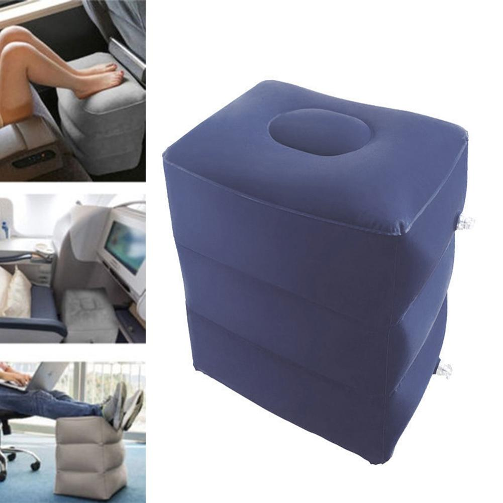 Astounding Hot Offer Inflatable Footstool Long Distance Aircraft Foot Dailytribune Chair Design For Home Dailytribuneorg