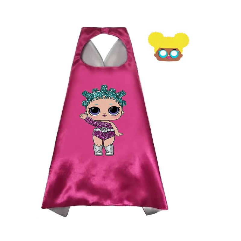 LOL Surprise кукла игрушка детский плащ маска детский сад мальчик Cospaly вечерние украшения Одежда детские игрушки подарок