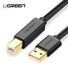 Ugreen USB Printer Cable USB Type B Male to A Male USB 2.0 3.0Cable for Canon Epson HP ZJiang Label Printer DAC USB Printer