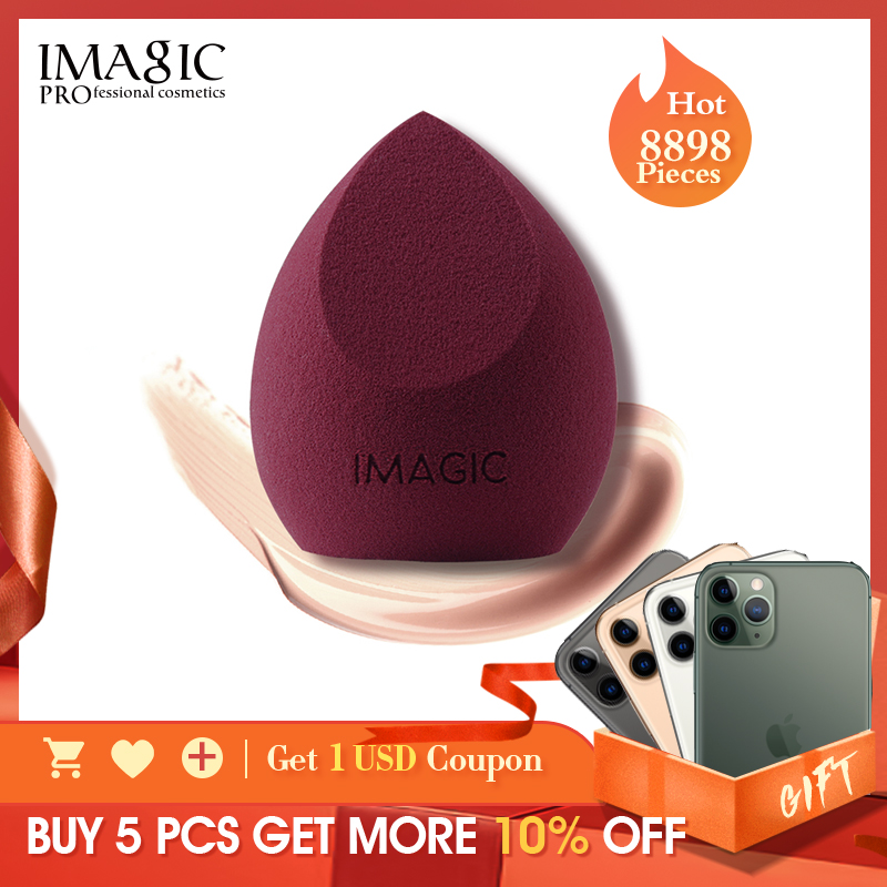 IMAGIC Makeup Sponge Puff Professional Cosmetic Puff For Foundation Beauty Cosmetic make up sponge Puff