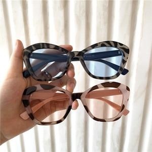 2019 Cat Eye Sun Glasses Colour Trend Sunglasses Street Fashion Women Vacation Beach Sunglasses