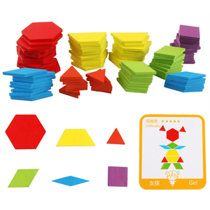 Image 4 - Venda quente 155 pçs conjunto de placa de quebra cabeça de madeira colorido bebê montessori brinquedos educativos para crianças aprendizagem desenvolvimento brinquedo