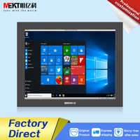 Outdoor 1000cd / panel waterproof IP65 /19/17/15 inch capacitive multi-touch screen monitor/industrial embedded wall mount