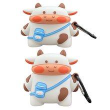 Молочная корова Кукла для apple airpodspro3 2 1 чехол Забавный