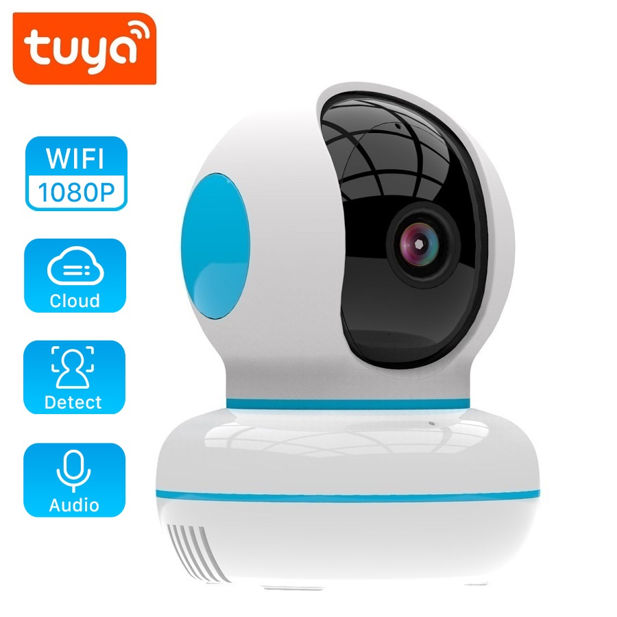 2020NEW 1080P IP Tuya Camera New Design Home Security Surveillance Cloud Wireless Network Wifi CCTV Baby Monitor Two Way Audio