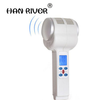 Ultrasonic Cryotherapy Hot Cold Hammer Lymphatic Face Lifting Massager Ultrasound Cryotherapy Facial Body Beauty Salon Equipment