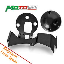 Support de déplacement de jauge de moto modifié (centre et bas de tableau de bord) avec couvercle et vis, pour YAMAHA XSR900 XSR 900, 1 jeu