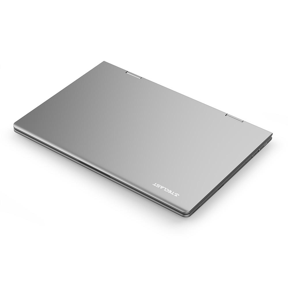Teclast f5 computador portátil 8gb ddr4 11.6 gb ssd windows 10 do tela táctil de 256 polegadas computador portátil intel n4100 1920x1080 ips 360 ° tipo-c 5
