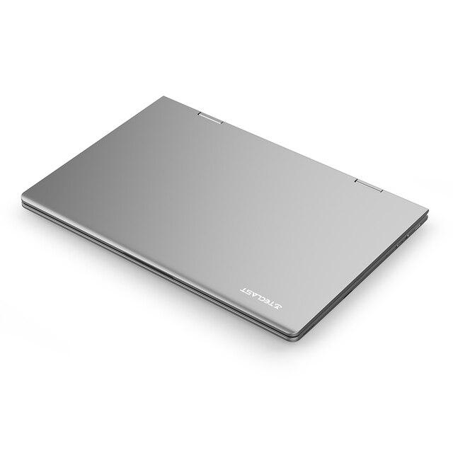 Teclast F5 11.6 inch Touch Screen Laptop 8GB DDR4 256GB SSD Windows 10 Notebook Intel N4100 1920x1080 IPS 360° Computer Type-C