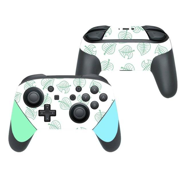 สัตว์ข้ามรูปลอกสติกเกอร์ผิวสำหรับNintendo Switch Pro Controller Gamepad Joypad Nintendo Switch Proสติกเกอร์