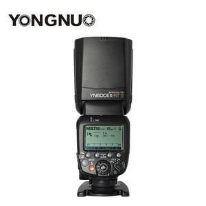 Image 1 - Yongnuo YN600EX RT II 2.4G kablosuz flaş Speedlite TTL optik HSS Master YN E3 RT Canon 600d 7d 700d 5diii 5d mark iv 60d