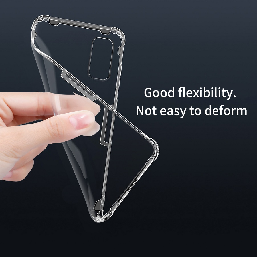 For Samsung Galaxy S20 case Nillkin Nature Transparent Clear Soft silicon TPU cover for Samsung S20 Ultra/S20 Plus case cover