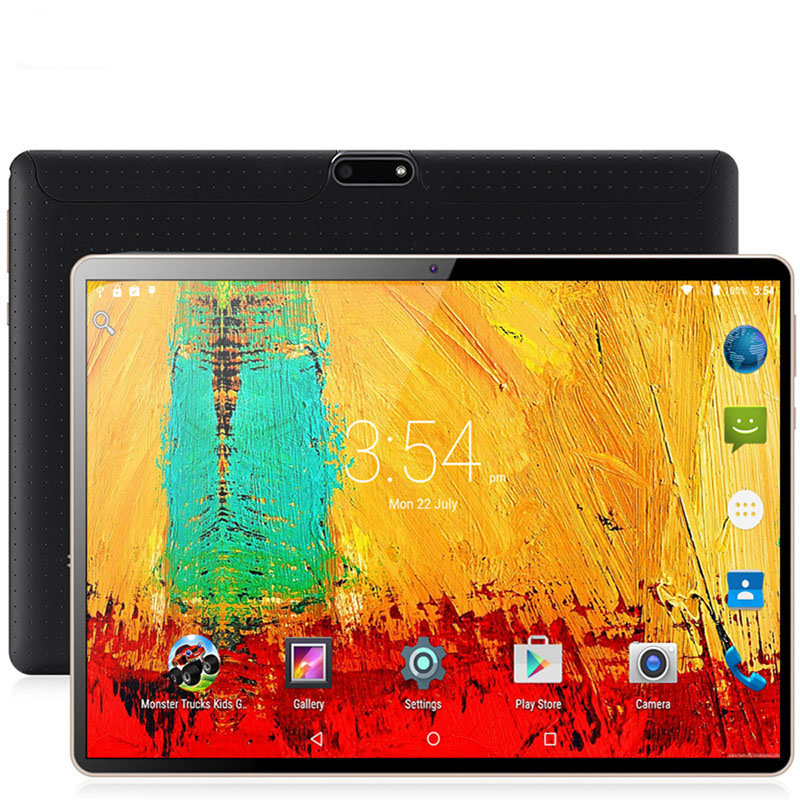 Ew System 10.1 In Tablet PC Android 9.0 3G/4G Phone Call Tablet PC Ten-Core 8GB Ram 128GB Rom Built-in 3G Bluetooth Wi-Fi Tablet