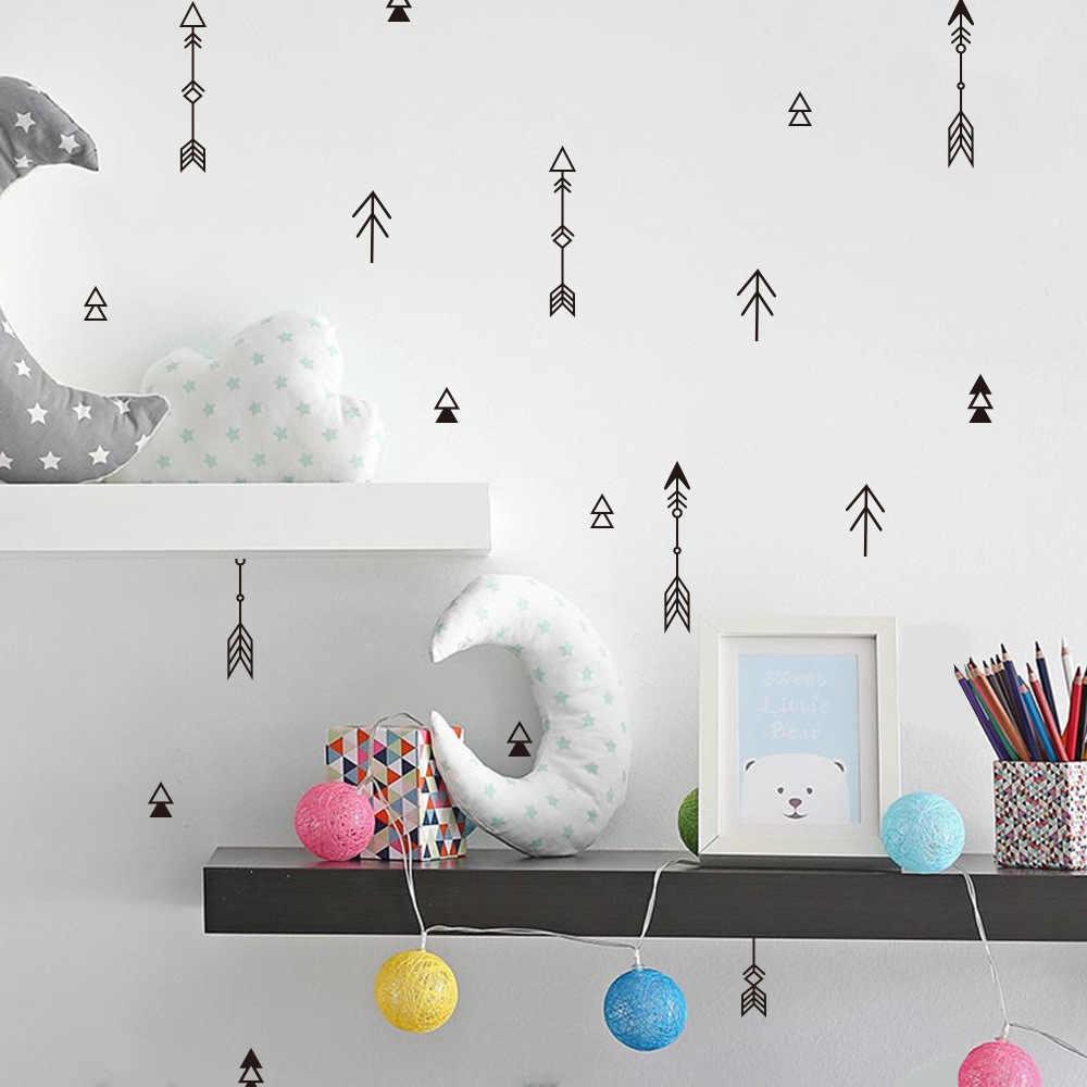 Виниловые наклейки на стену с изображением стрелы из мультфильма «сделай сам» для детской комнаты, украшения дома, Съемные Наклейки на стены, художественные плакаты