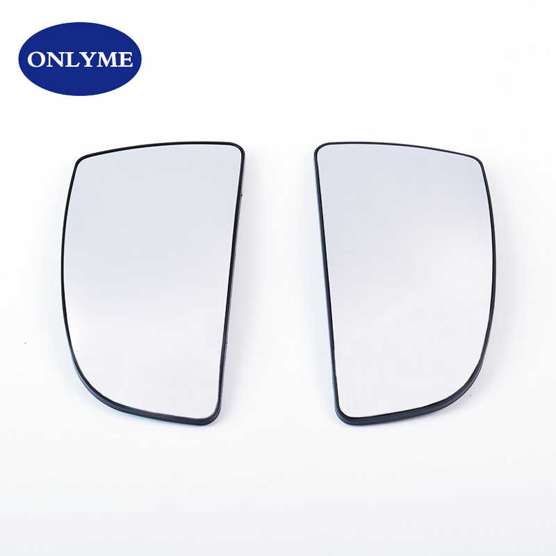Dingln Pair Of Lower Door Wing Mirror Glass Fit For F-o-r-d Transit MK8 2014-2020 1855103 1855102