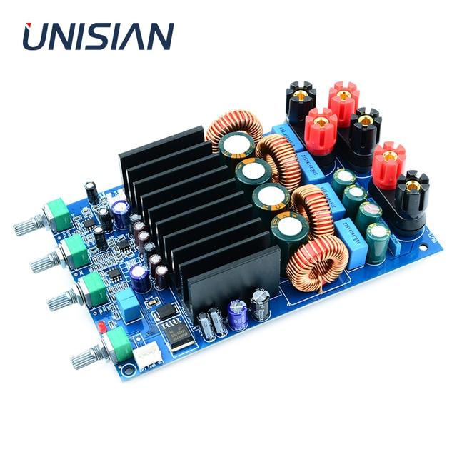 UNISIAN TAS5630 2.1 אודיו מגבר לוח 2X150W + 300W Digtial 2.1 ערוצים Class D גבוהה כוח מגבר עבור קולנוע ביתי מערכת