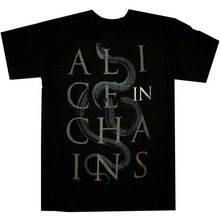Alice In Chains Snakes Shirt S M L XL XXL Official T-Shirt Tshirt New(China)