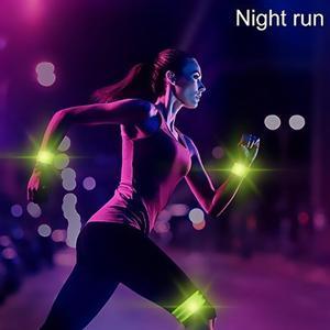 Image 2 - Светоотражающие ленты, эластичная повязка на руку, ремешок на лодыжке, ремни безопасности, отражатель, лента для ночного бега, ходьбы, езды на велосипеде