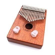 2 adet parmak kapak kabartma oyun ağrı eldiven silikon eller ceket Kalimba başparmak piyano Mbira Sanza klavye müzik aleti
