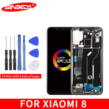 """6.21"""" LCD For Xiaomi Mi 8 LCD Display Touch Screen Digitizer Assembly Replacement For Xiaomi Mi8 LCD For Xiaomi Mi 8 Display"""