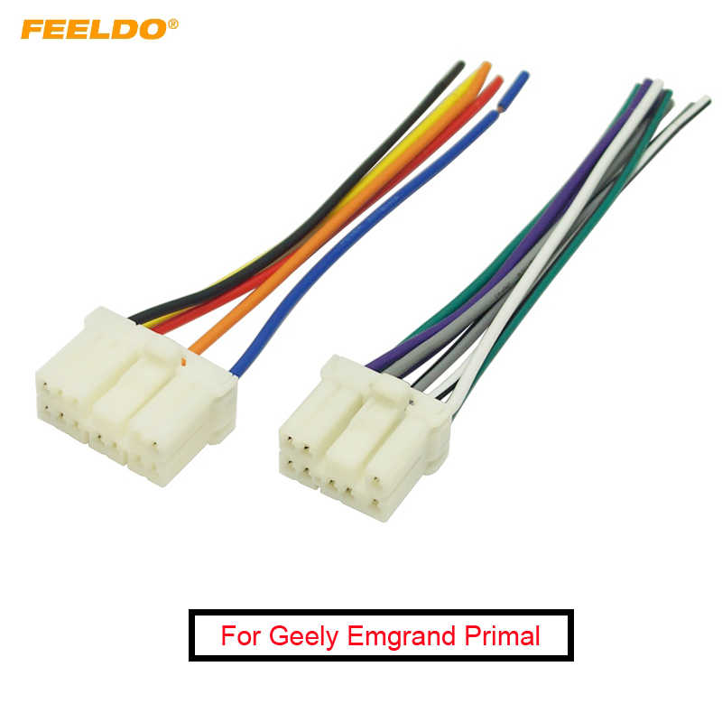 [SCHEMATICS_48IU]  FEELDO 1Pair Car Radio Audio Wire Harness Aapter Male Plug for Geely  Emgrand Primal Suzuki Stereo Speaker Cable #FD4213| | - AliExpress | Car Audio Wiring Harness |  | www.aliexpress.com