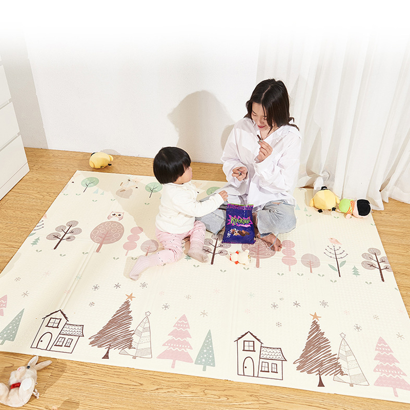 XPE Puzzle Children's Mat Thickened Tapete Infant Baby Room Crawling Pad Baby Play Mat Foldable Folding Mat Baby Carpet