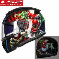 LS2 FF390 Breaker Pieno Viso moto rcycle casco Da Corsa casco moto Doppia Visiera capacete ls2 Originale kask moto cyklowy casque moto