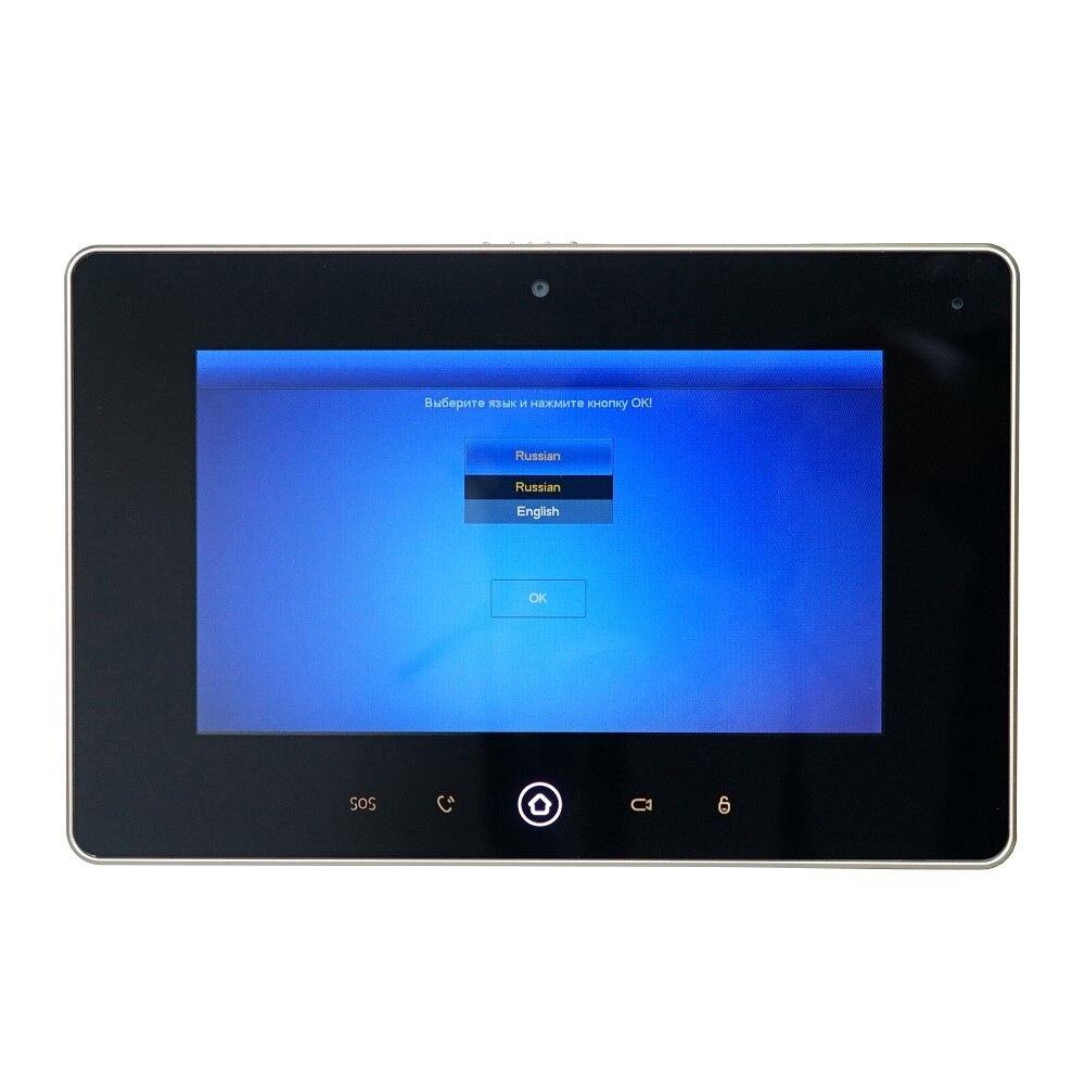 Dh logotipo multi idioma vth5221d monitor interno de 7 polegadas, build in câmera, sip firmware, campainha ip, vídeo porteiro, campainha com fio - 4