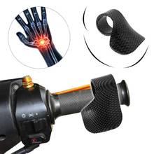 Мотоциклетная рукоятка для электровелосипеда, дроссельная заслонка, карбоновое волокно, мото, на запястье, круиз-контроль, защита для ног, аксессуары для мотоциклов