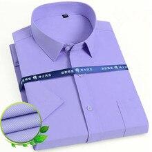 Designer Shirts Chemises Purlpe Wear Wedding-Dress Business Social Formal Blue White