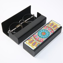 Blume Brille Herbst DIY Diamant Kunst Handwerk Kunst Kreative Herbst brillen frauen zubehör