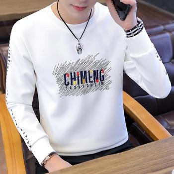 Long sleeve T-shirt for men's spring clothing; men's bottoming shirt for men; T-shirt for men; spring and autumn