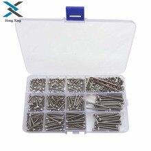 Tornillos hexagonales Allen de acero inoxidable, Tuercas de llave, Kit surtido, M3 (3mm) 440 A2, 304 Uds., envío gratis