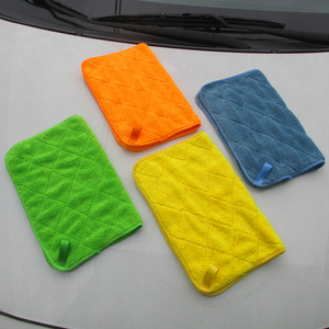 Image 2 - Auto Detaillering 40x30cm Auto Wassen Doek Microfiber Handdoek Car Cleaning Rag Voor Cars Dikke Microfiber Voor car Care Keuken