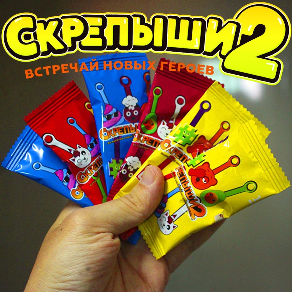 50/30/20PCS Skrepyshi 2 Neue Sammlungen 2020 Förderung Magnet Spielzeug für Kinder Jugendliche Skrepish Clips Skrepysh von Magnit zu Kaufen
