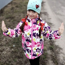 Waterproof Windproof Children Outerwear Baby Girls Jackets Children Kids Coat Warm Polar Fleece For 3-12T Winter Autumn Spring 2020 autumn winter waterproof windbreaker girls jacket for child hooded star polar fleece girls outerwear coat 3 12t kids jacket