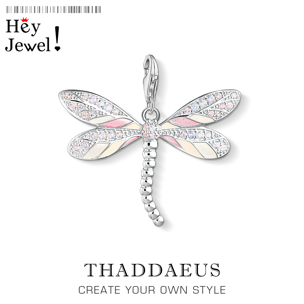 Dragonfly Charms Pendant 2019 Thomas Nature Jewelry Tropical Accessories 925 Sterling Silver Fashion Jewelry Ts Gift For Women
