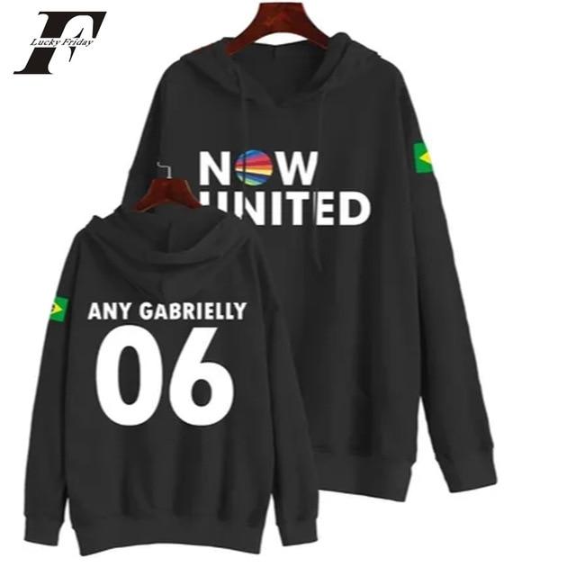 Now United Sabina Hidalgo 03 Hoodie Sweatshirts Trui Kpop Newtracksuit Streetwear Print Casual Mannen Vrouwen Printed Coat Tops 8