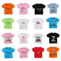 Meninas camisetas verão algodão camisa de manga curta tshirt roupas infantis menina banana t camisa crianças roupas crianças topos camiseta