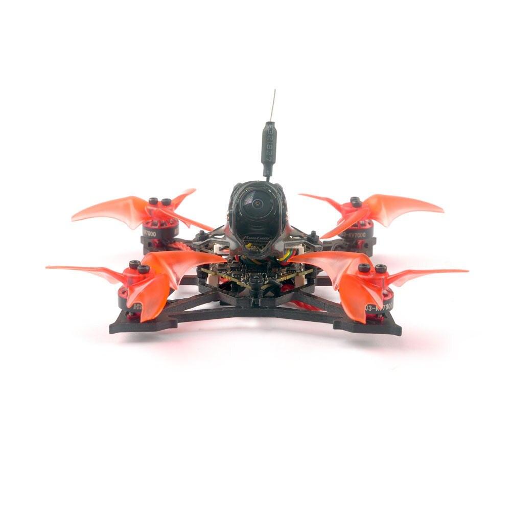 Happymodel Larva X 100mm Crazybee F4 PRO V3.0 2-3S 2.5 Inch AIO FPV Racing Drone BNF W/ Runcam Nano2 Camera