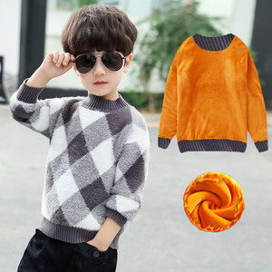 Image 5 - 2020 Fashion Boys Sweater Spring Winter Infant Boy Outerwear Cotton Sweater Kids Sweater Children Knitwear Sweater Brand Tops