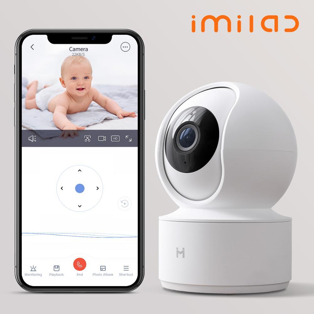 1080P Беспроводная смарт-домашняя детская IP камера безопасности IMILAB WiFi купольная камера наблюдения питомца няня монитор ночного видения