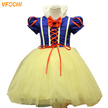 VFOCHI New Arrival Girl Snow White Dresses Baby Girls Halloween Dress Children Stage Kids Costumes for