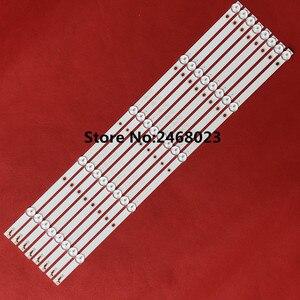 8 Pçs/lote 5LED ou 6LED tira retroiluminação LED para 55PUF6092 K550WDC1 A2 4708-K550WD-A2113N01 K55WDC-A1113N01 471R1P79