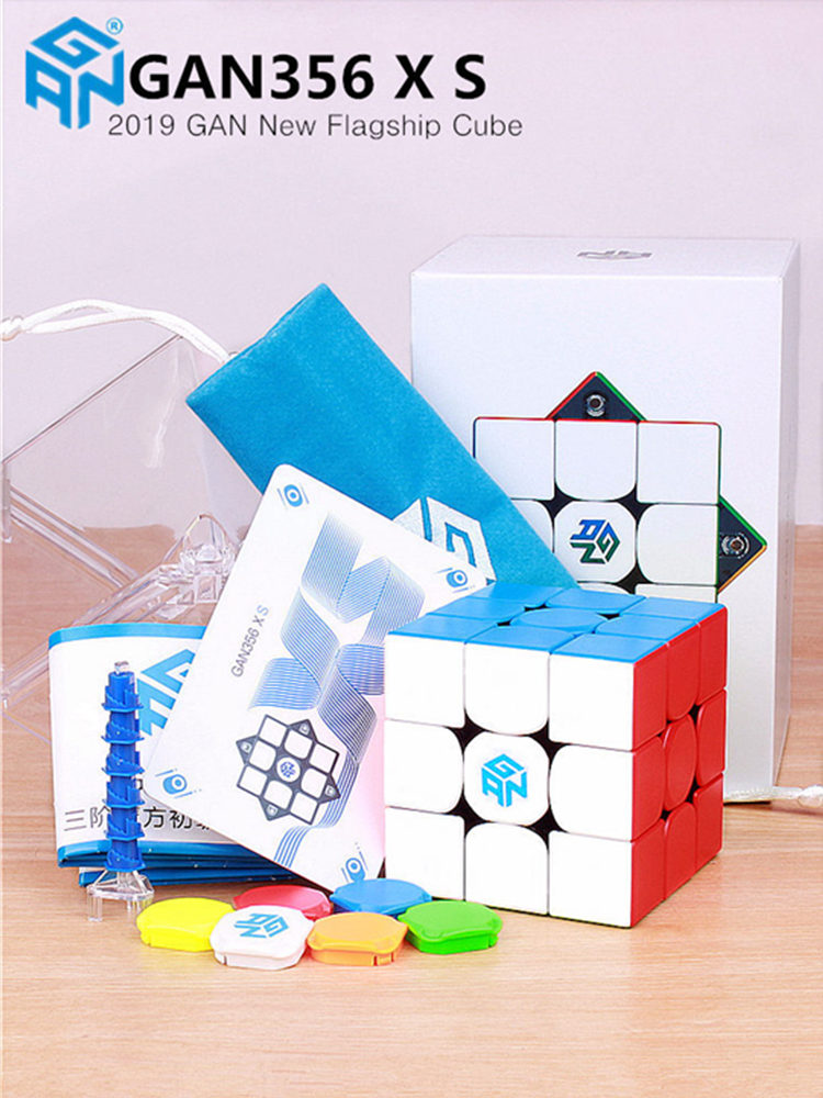 GAN Cube Puzzle Magnets Magic-Speed Gan-356 Professional Gan356-X-S XS