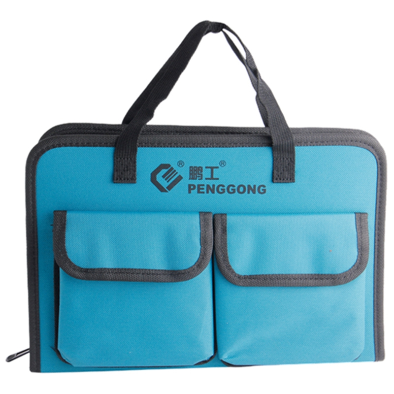PENGGONG Tool Bag 31.5 X 21 X 5.5cm Waterproof Electrician Tool Bag Handbag Organizer Tools